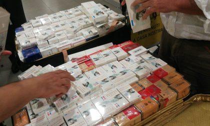 Contrabbando di sigarette: sequestrati 30 kg all'aeroporto Vespucci