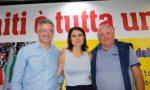 Simona Bonfè a Pistoia firma per chiedere le dimissioni di Salvini FOTO