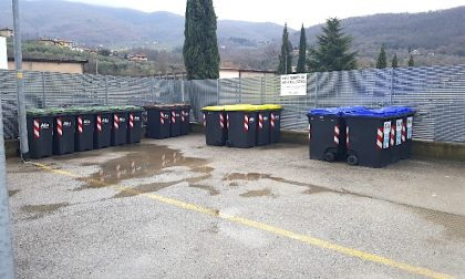 Cresce a Vaiano la raccolta differenziata dei rifiuti