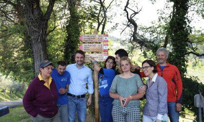 Monte Morello, inaugurati i nuovi sentieri a Cercina