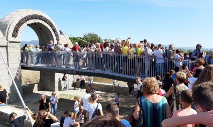 Inaugurato il ponte Manetti: grande festa a Poggio a Caiano – LE FOTO