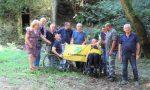 Legambiente mantiene la promessa: con tre amici disabili in valle Buia
