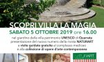 Sabato 5 ottobre a Villa La Magia a Quarrata la presentazione di Naturart 34