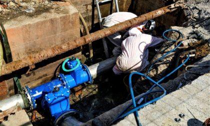 Sostituzione condotta idrica in via Leopardi a Poggibonsi