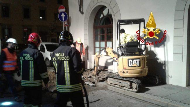 Fuga di gas su lungarno Diaz a Firenze: chiuso momentanemente