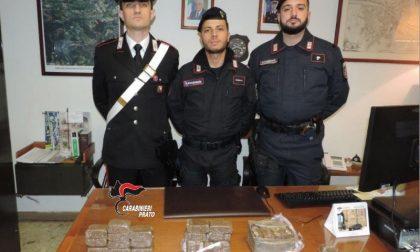 Giovane italiano trovato con tre chili di droga in macchina