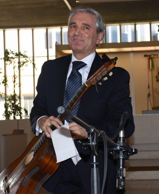 Il direttore artistico del festival Marco Annunziati