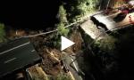 Crollo viadotto Torino-Savona: ai soccorsi partecipano anche i Vigili del Fuoco toscani VIDEO