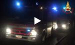 Incendio in un appartamento VIDEO