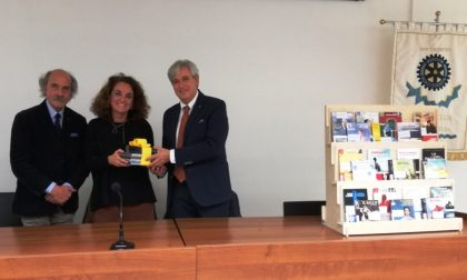 Biblioteca di Poggibonsi, nuovi audiolibri donati dal Rotary Club
