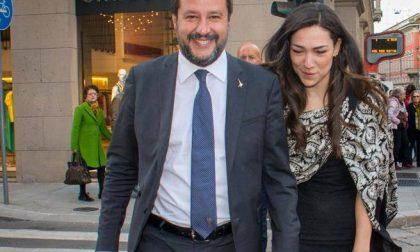 Matteo Salvini e Francesca Verdini: cicogna in arrivo?