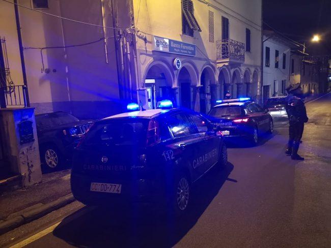 Furto da 10mila euro alla filiale del Banco fiorentino a Malmantile