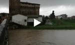 Maltempo e pioggia: via Tosca Fiesoli a Campi allagata VIDEO