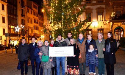 L'ATT riceve assegno di 14.000 euro dall'Associazione Borgognissanti