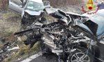 Terribile scontro tra due auto sulla Sp31