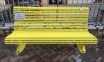 Una panchina gialla per Giulio Regeni