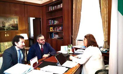 Nicola Maglione (M5S) a Roma con Giannarelli per parlare di amianto, vivai e raddoppio ferroviario