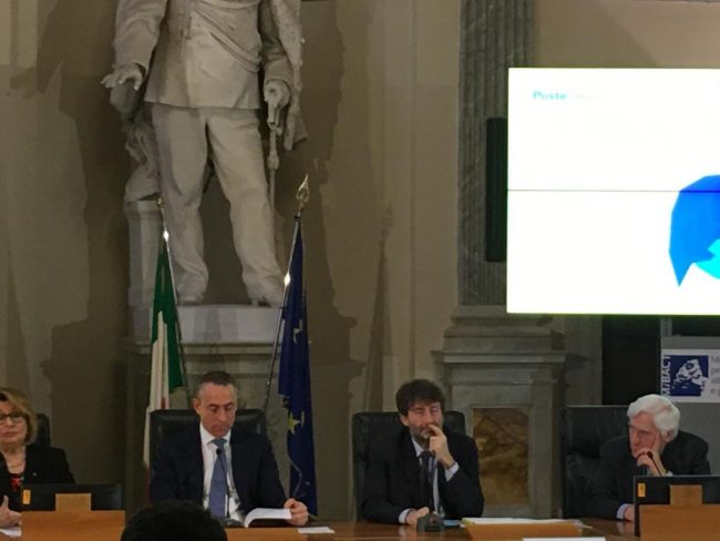 Poste italiane sostiene le celebrazioni per i 700 anni di Dante Alighieri