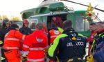 Cade durante un'escursione: recuperato con l'elicottero dei vigili del fuoco