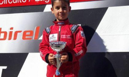 Manuel Morello, il campioncino di kart che fa impazzire Montemurlo