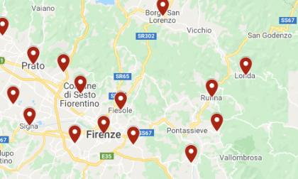 Coronavirus: Scandicci, Fiesole, Calenzano, Signa, Sesto Fiorentino e tutti gli altri comuni con casi positivi risultati ieri