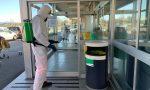 In corso la sanificazione degli spazi pubblici