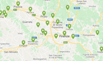 Cartina Toscana Con Province E Comuni.Coronavirus Ecco La Mappa Dei Contagi Di Ieri Comune Per Comune Prima Firenze