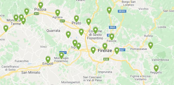 Cartina Geografica Cartina Comuni Della Provincia Di Cremona.Coronavirus Ecco La Mappa Dei Contagi Di Ieri Comune Per Comune Prima Firenze