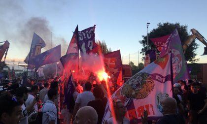 In diretta: i tifosi della Fiorentina chiedono un nuovo stadio