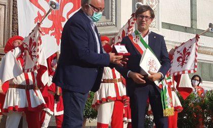 Dal sindaco Nardella il Fiorino d'Oro a Paolo Morello Marchese -GUARDA LA FOTOGALLERY