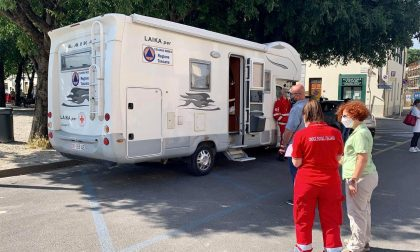 Indagine sierologica, stamani nella Piana era presente l'unità mobile della Croce Rossa