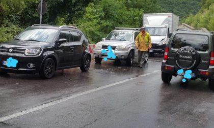 Incidente da Vaiano verso Prato