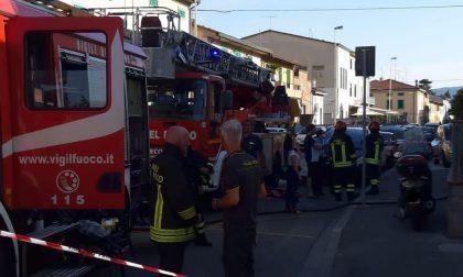 Incendio in un appartamento a Prato