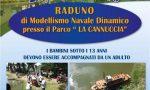 Modellismo navale, raduno al parco-lago La Cannuccia