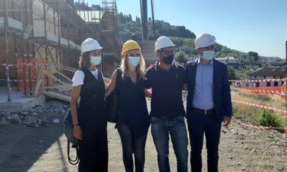 Il Covid non ferma i lavori del nuovo asilo nido a Morecci – LE FOTO
