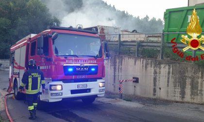 Incendio all'inceneritore di Selvapiana