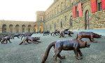 Firenze invasa dai lupi di Liu Ruowang