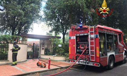 Incendio in una casa a Carmignano