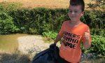 """Il sindaco Calamai """"premia"""" il piccolo Filippo, la sentinella dell'ambiente"""