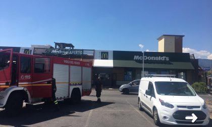 Incendio al McDonald di Bagnolo