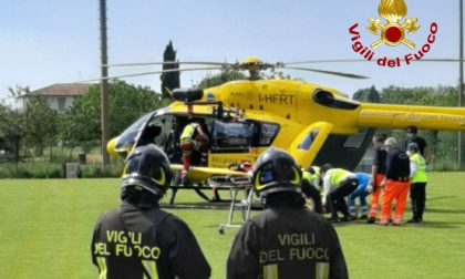 Incidente sulla Sp 128: feriti presi in carico dal Pegaso