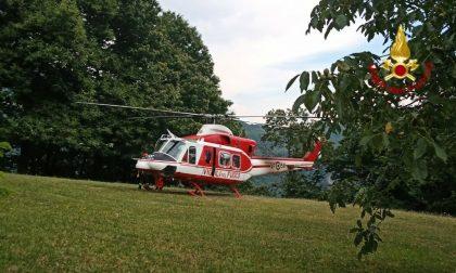 Si perde in zona Gavigno: recuperata con l'elicottero