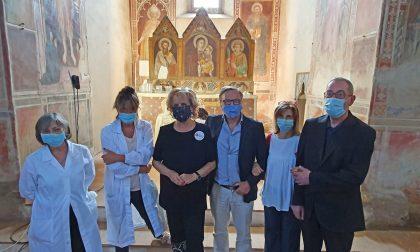Oratorio di San Bartolomeo: al via il restauro degli antichi affreschi – LE FOTO