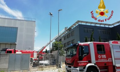 Pannelli fotovoltaici in fiamme a Campi Bisenzio