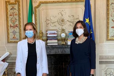 Il Prefetto di Firenze ha incontrato il nuovo Console Generale degli Stati Uniti