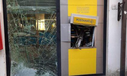 Rufina, malviventi fanno esplodere il bancomat delle Poste –  LE FOTO