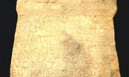 Rarissima e antica stele, del valore di due milioni e mezzo di euro, restituita alla Turchia dai Carabinieri