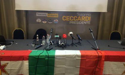 """Susanna Ceccardi: """"Buon lavoro a Giani"""""""