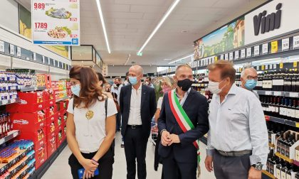 """Stamani ha aperto Eurospin a Campi. La soddisfazione del Sindaco: """"Campi conferma la vocazione attrattiva"""""""