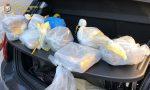 Scovati 10 chili di cocaina pura per un valore di un milione di euro
